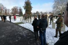 Cérémonie d\'hommage aux soldats québécois morts à Namur : 31 janvier 2019