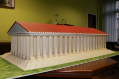 Maquette Temple Artemis